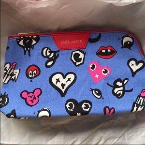 🎉5/$25 NEW Estée Lauder Corner Zip Cosmetic Bag